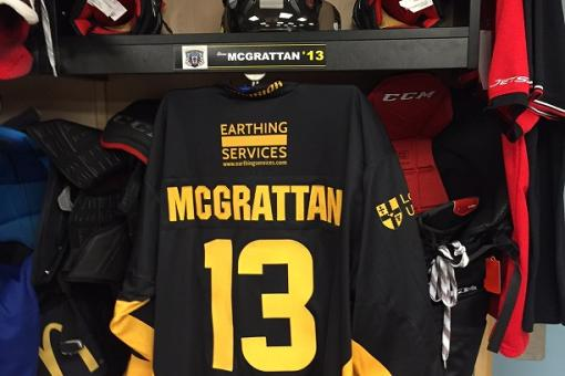 Win Brian McGrattan's debut Panthers shirt tomorrow night!