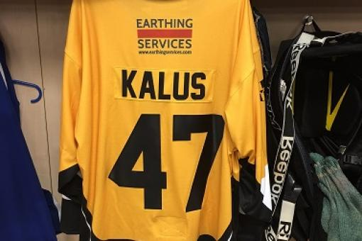 No surprises - SHIRT OFF HIS BACK will be KALUS DEBUT SHIRT!