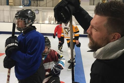 Second Brian McGrattan camp at AJKM Hockey Barn tonight