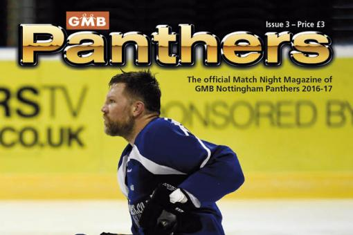 GMB PANTHERS v DUNDEE THIS SATURDAY - NEW MAG ON SALE