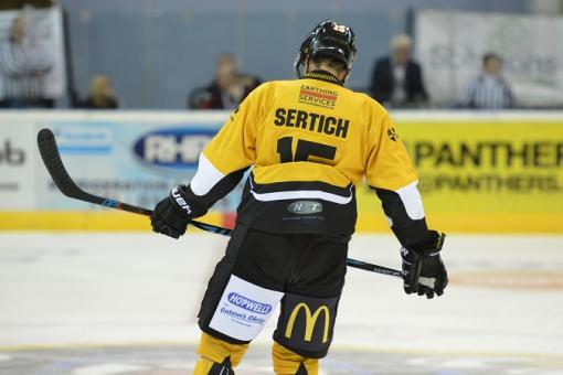 X-rays show no fracture for Sertich