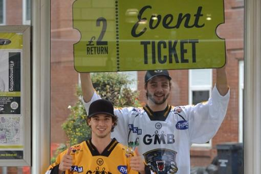 TRAM DEAL WITH THE PANTHERS - GET ON BOARD!