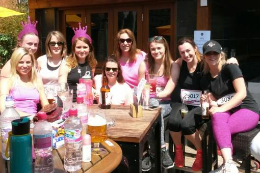 £1500 and counting for Race for Life
