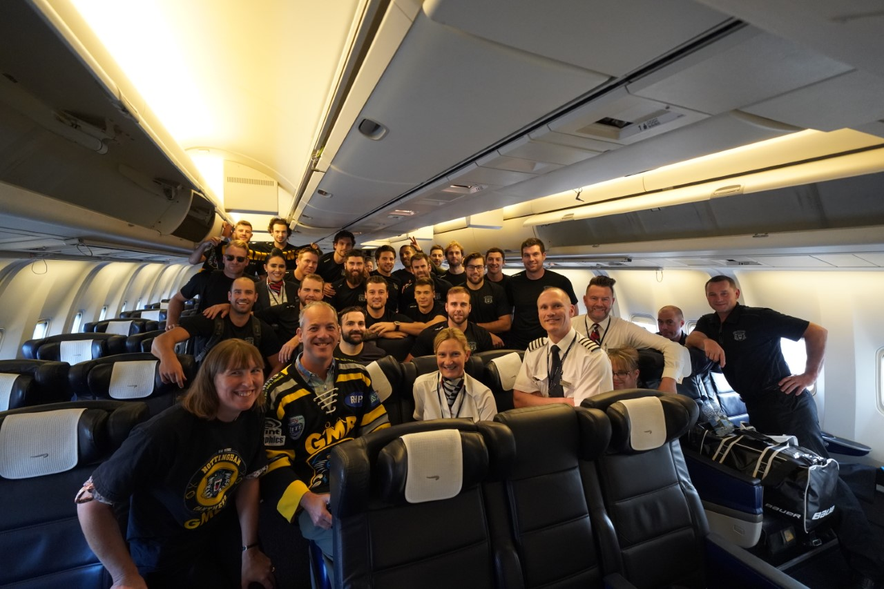 Panthers land safely in Switzerland Top Image
