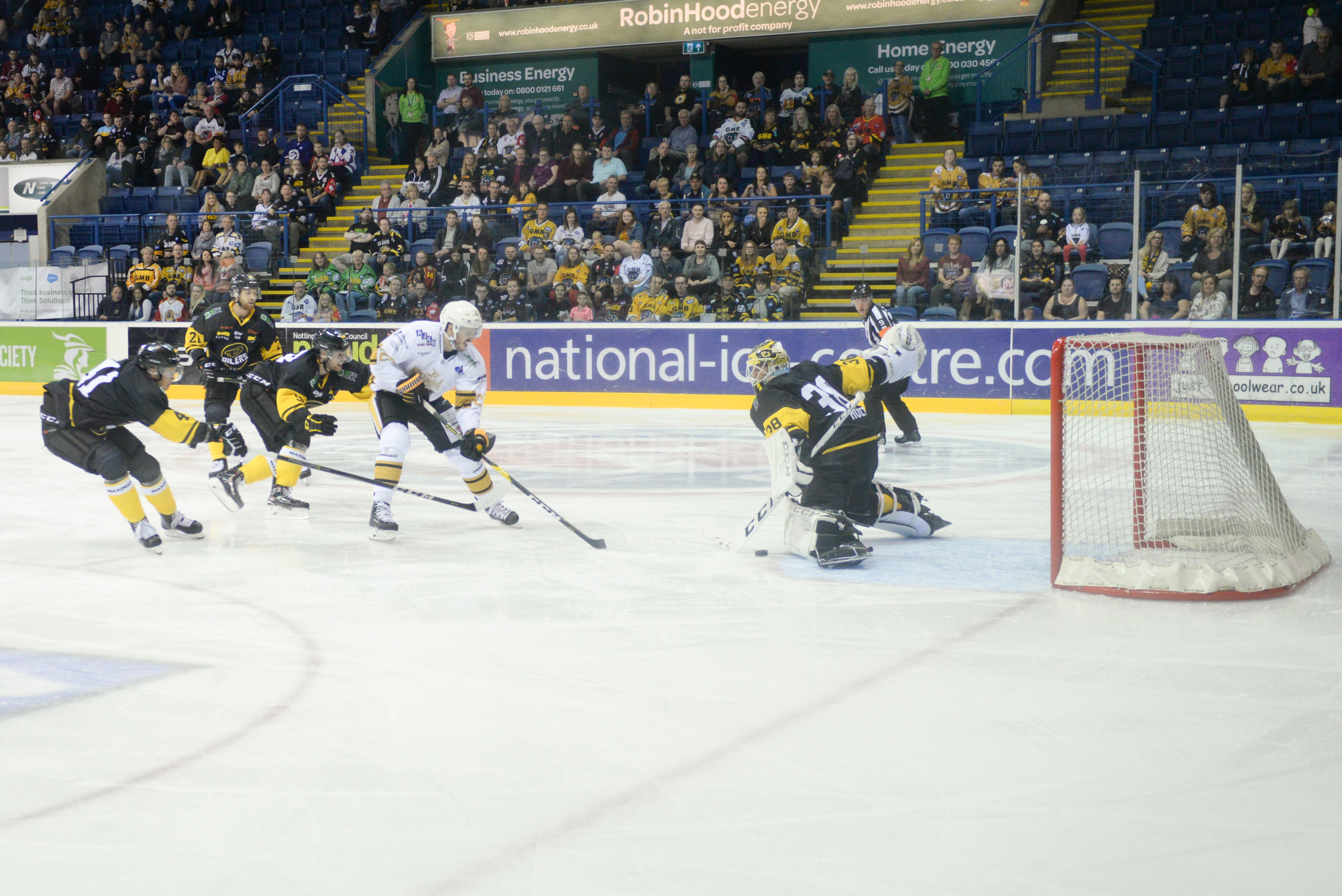 The Nottingham Panthers vs Manchester Storm: Panthers at Full Strength Top Image