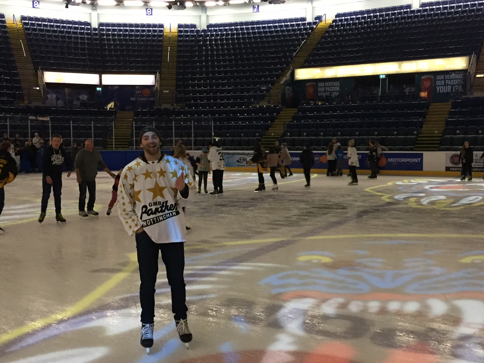 Sponsors join Panthers on the ice Top Image