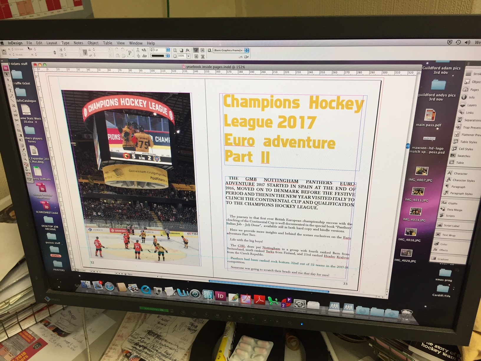 CHL special yearbook- calendar launch soon Top Image