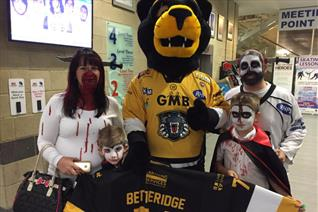 Fright night at the Panthers returns Saturday