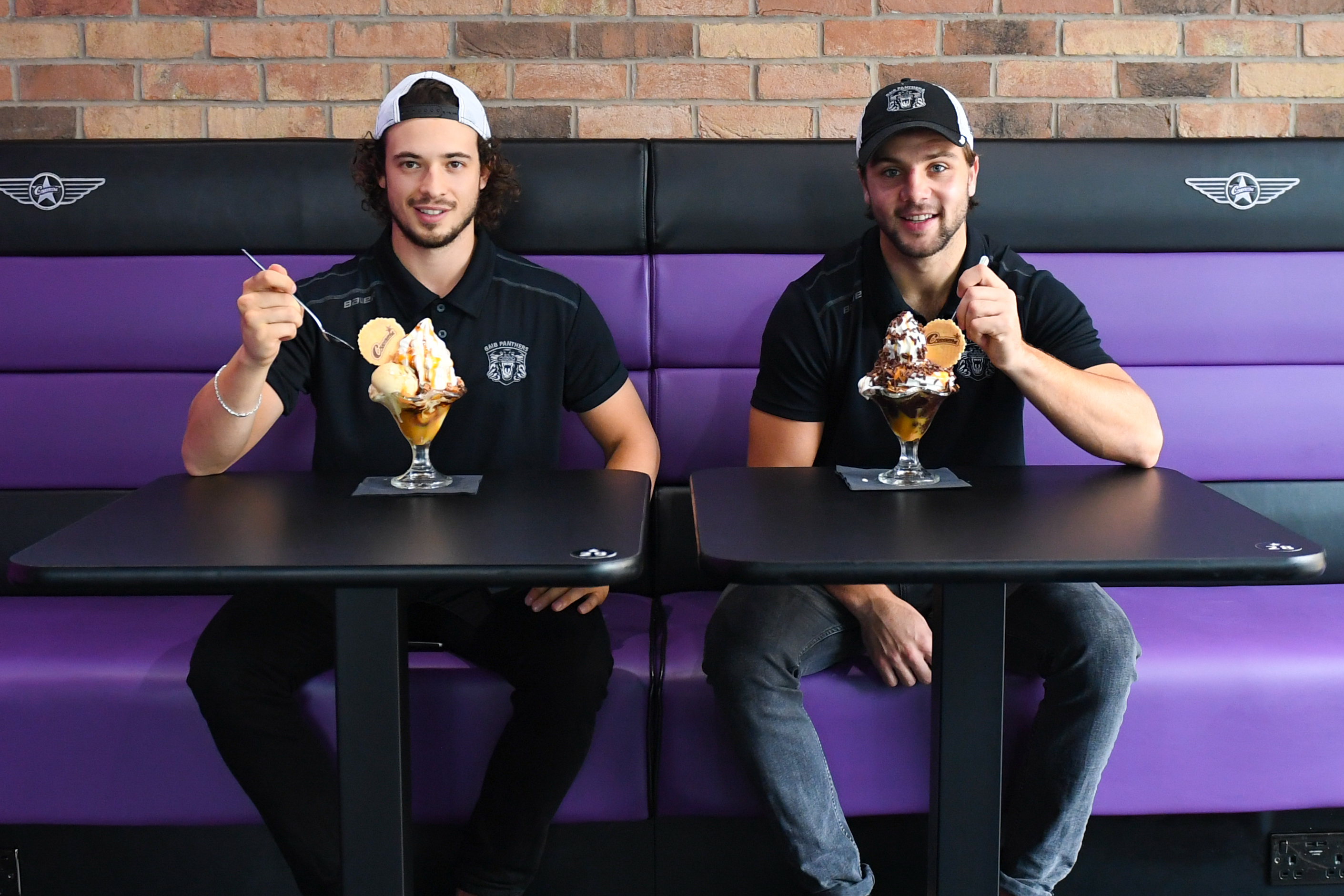 Panthers join up with Creams for sweet treat Top Image