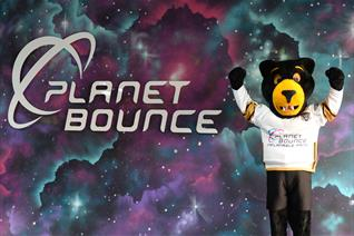 Paws at Planet Bounce