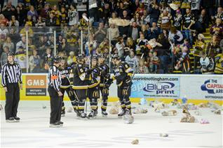 Early Teddy Bear Toss