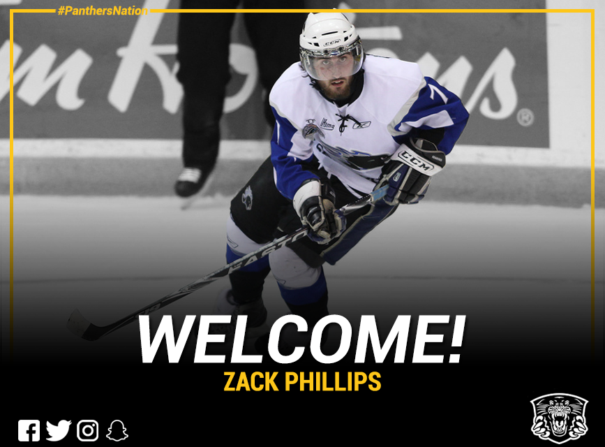 Panthers sign first round draft pick Zack Phillips Top Image