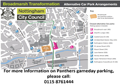 Official Car Park Partner - Nottingham City Council