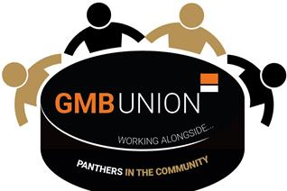 Panthers in the Community with the GMB