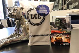 Unique camera prizes at the game