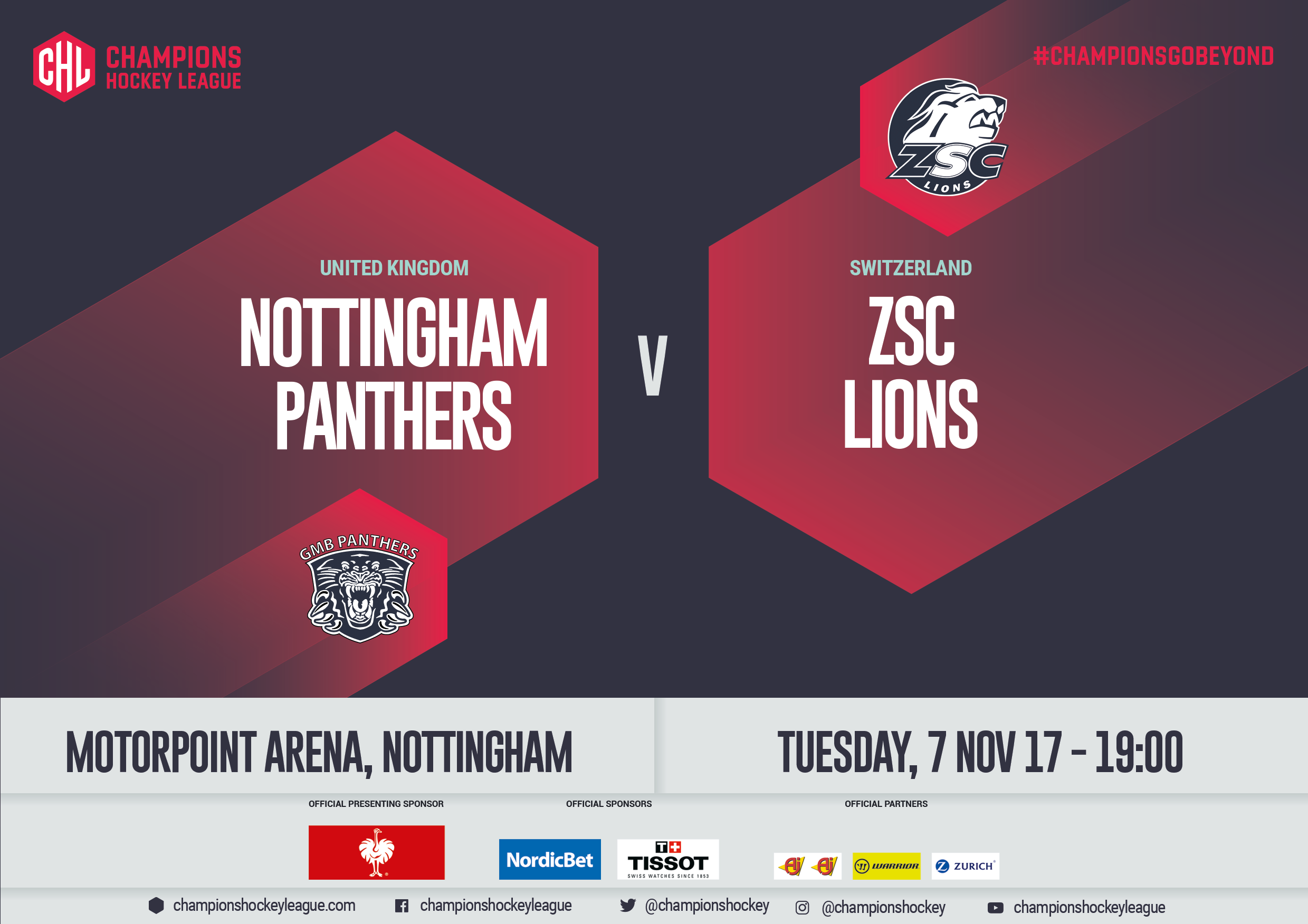 Panthers v Zurich ticket prices slashed Top Image