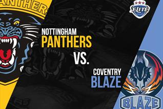 EIHL Begins today- Panthers vs Blaze