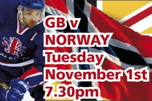 Pay on the door at GB v Norway tonight