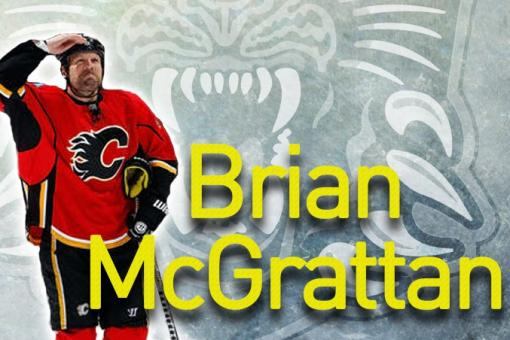 Panthers sign NHL heavyweight Brian McGrattan