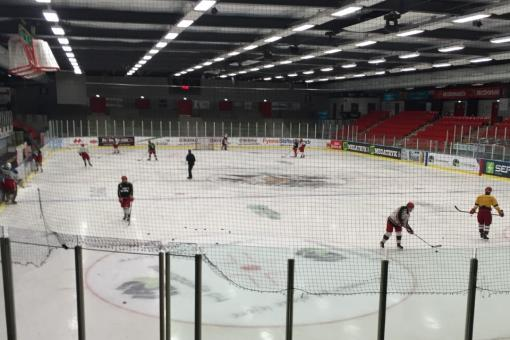 Panthers train in Odense ahead of Continental Cup