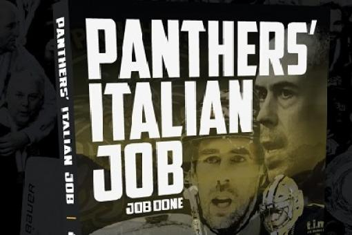 Panthers' Italian Job - last of the books on sale this weekend