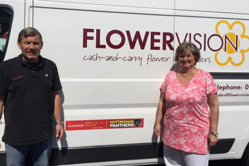 FLOWERVISION BACK ON BOARD WITH THE PANTHERS