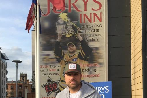 Tough guy Brian McGrattan arrives in Nottingham raring to go!