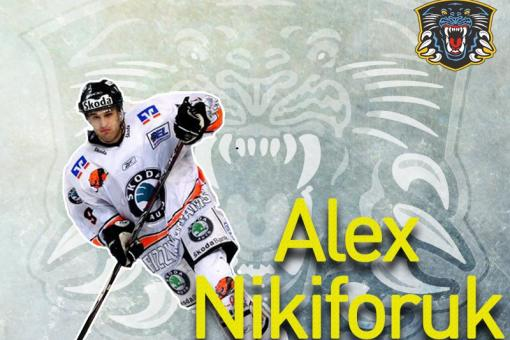 Panthers sign speedy forward Alex Nikiforuk