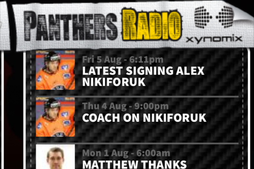 XYNOMIX back on board with Panthers Radio