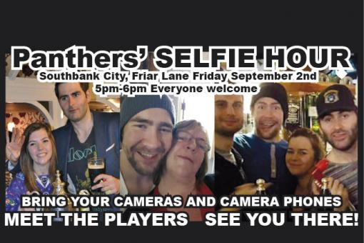 Action starts Sunday - SELFIE HOUR WITH FANS TODAY!