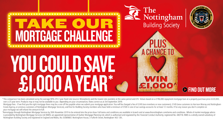 Remortgage Challenge - The Nottingham Buildign Society
