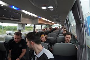 GMB Panthers' new European adventures underway