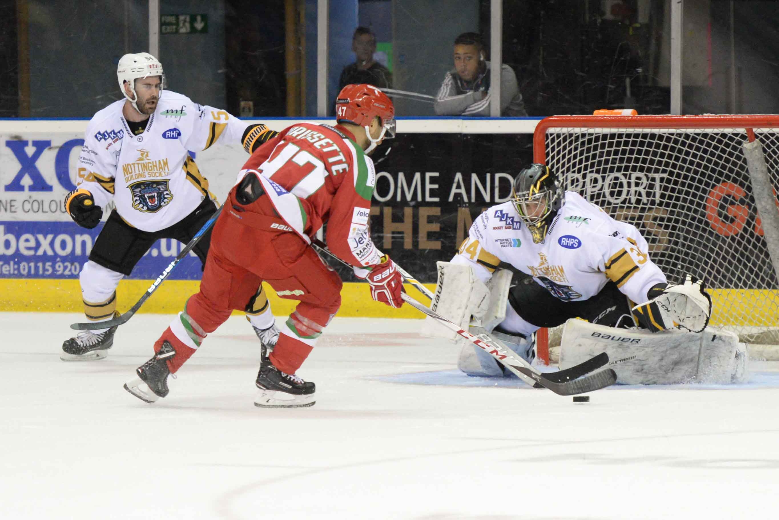 The Nottingham Panthers vs Cardiff Devils: Tomorrow Top Image