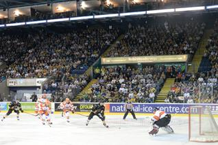 The Nottingham Panthers vs Glasgow Clan: Bowl Half Full
