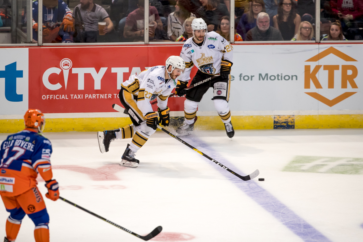 Gameday: The Nottingham Panthers @ Sheffield Steelers - 27/10/18 Top Image