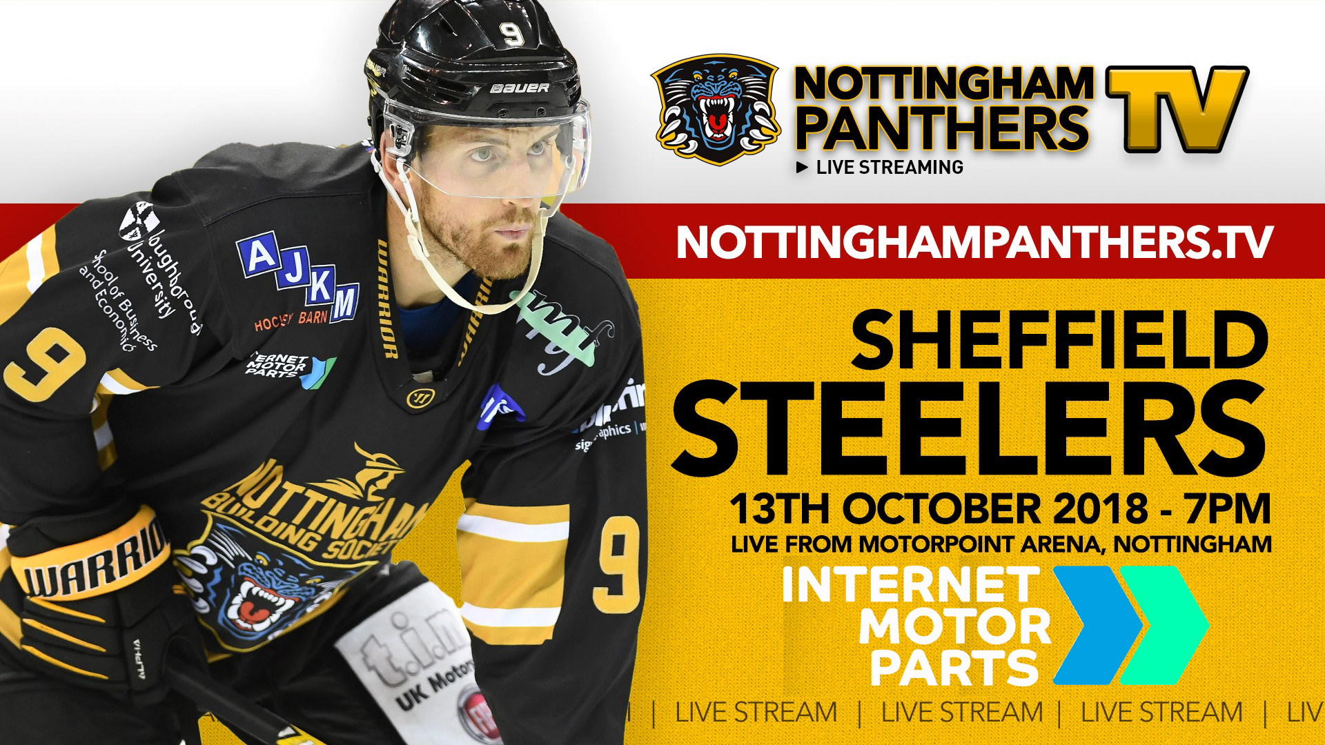 Don't miss a shift! - Nottingham Panthers