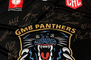 Charity jersey auction ends at £150