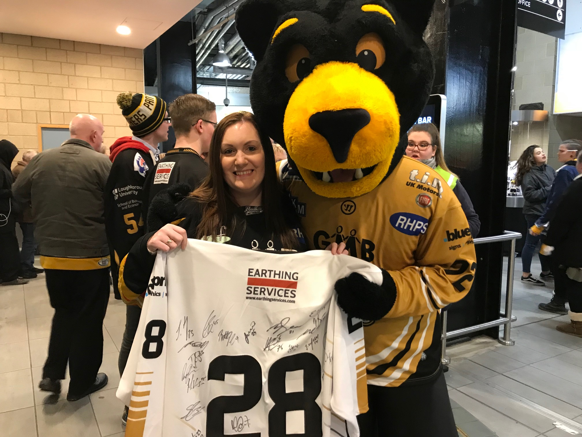 Alyson surprised with jersey Top Image