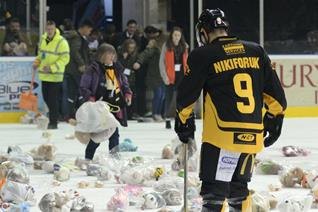 Gameday- Prepare for the Teddy toss