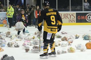 Panthers teddy bear toss returns