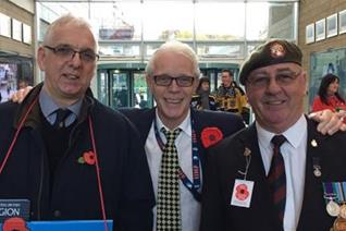 Panthers' poppy appeal tomorrow (Friday)