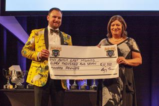 Panthers raise £11,700 for charity