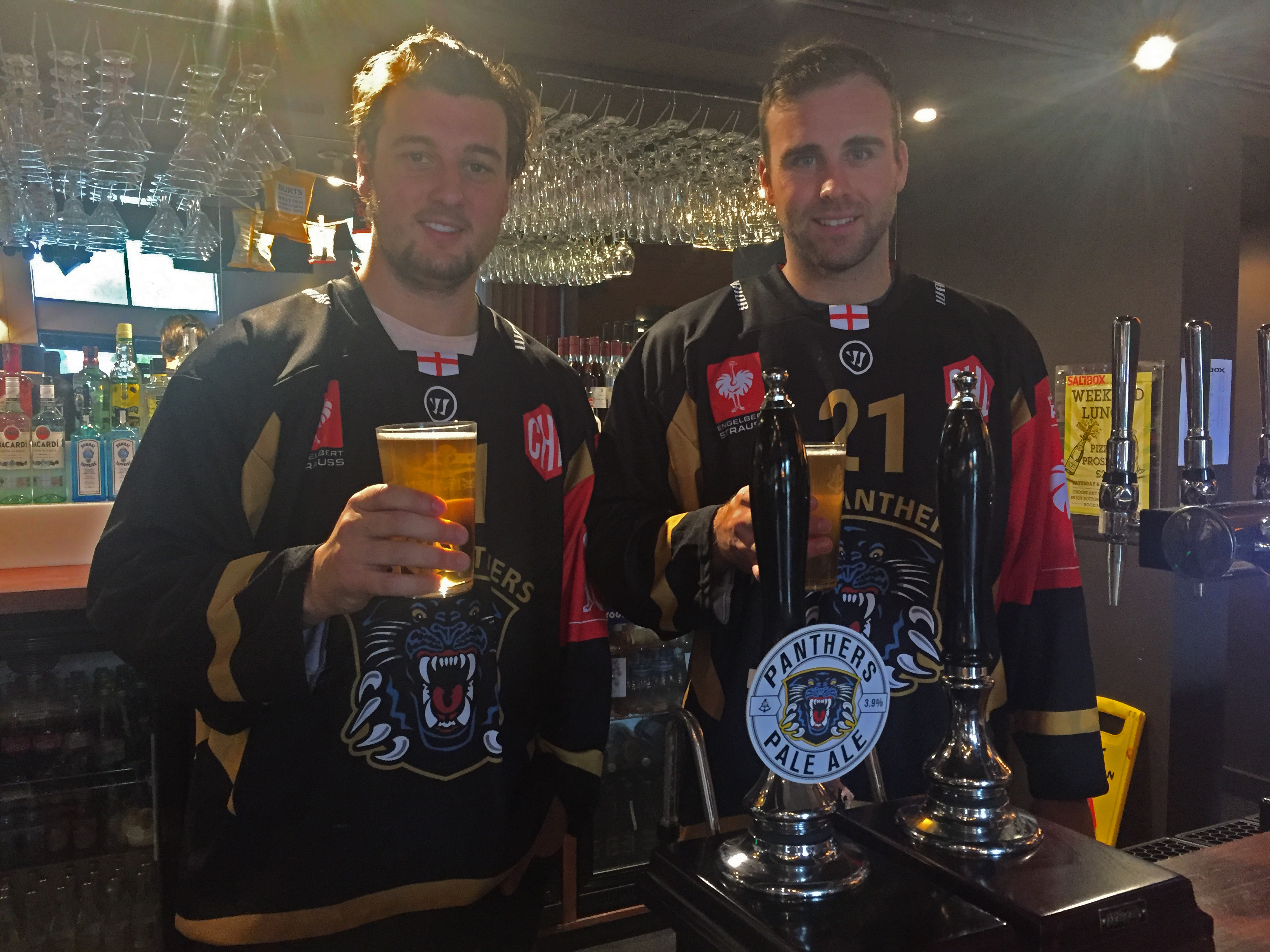 Panthers launch new Ale with Saltbox Top Image