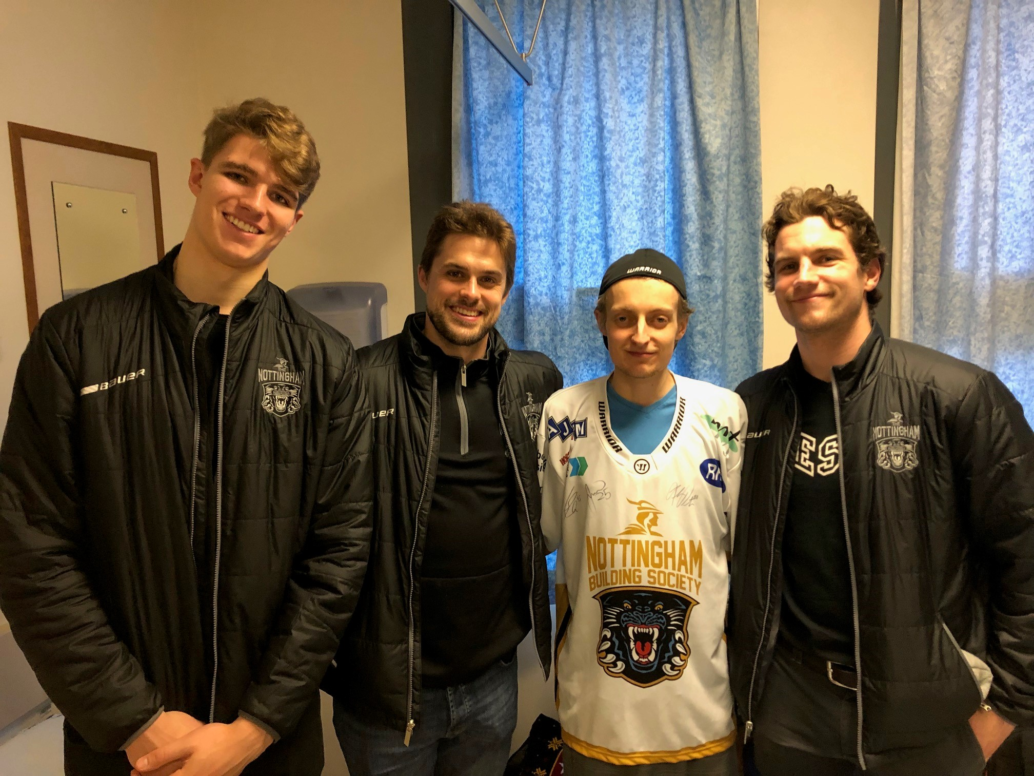 New heart for Panthers' fan Lewis Top Image