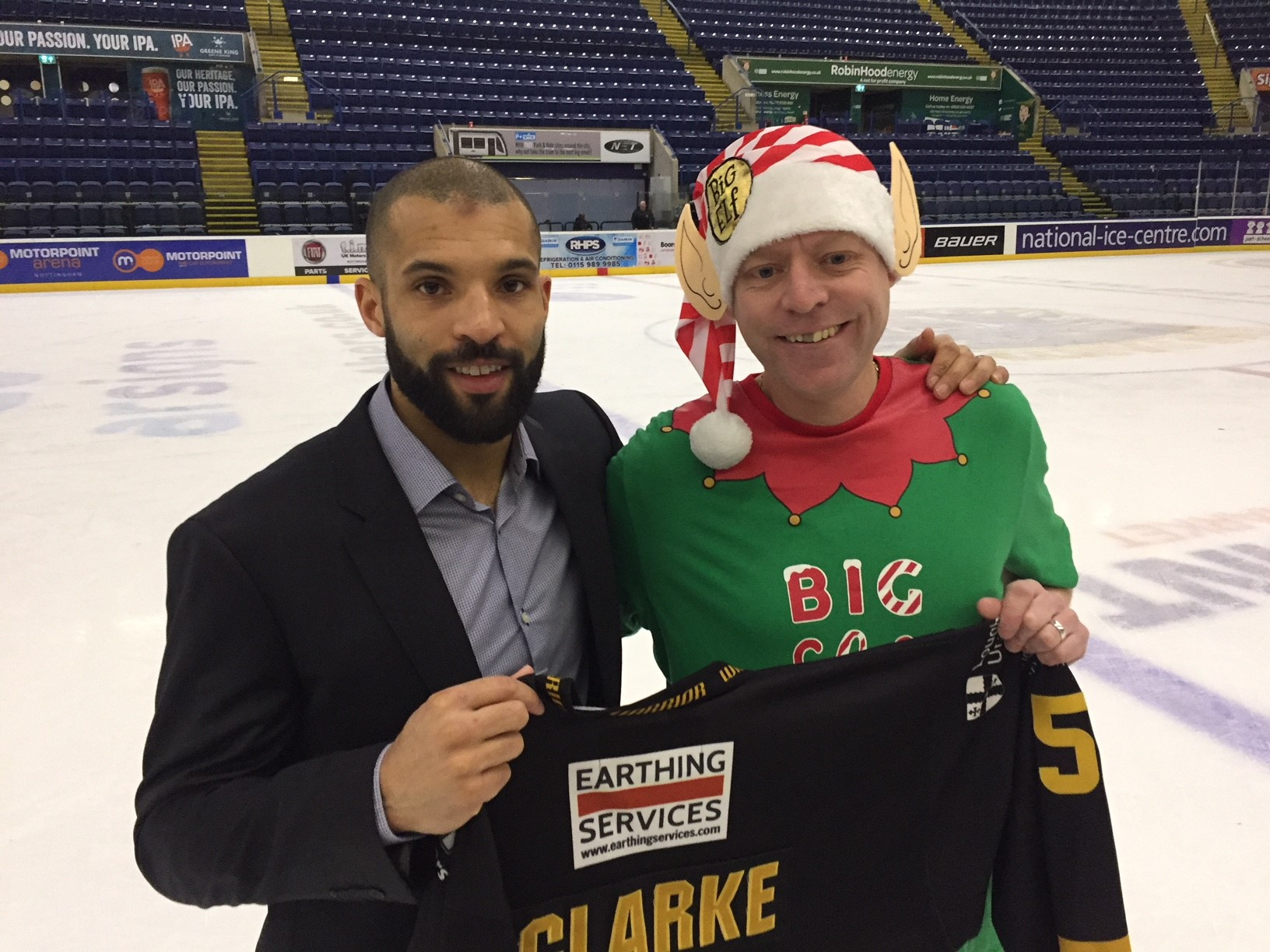 David Clarke's shirt was up for grabs Top Image