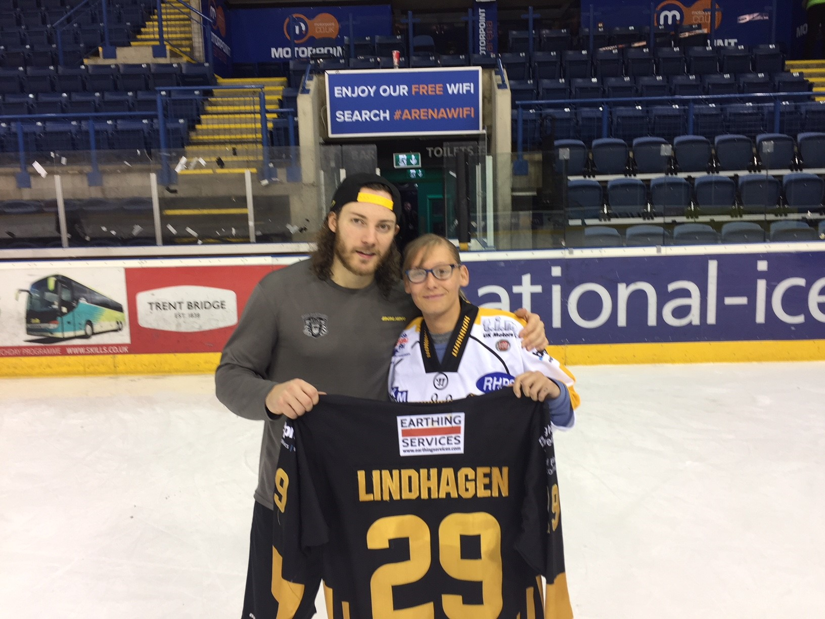 Lindhagen jersey goes to long time fan Top Image