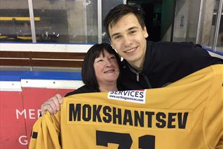 Mokshantsev shirt goes to Mansfield