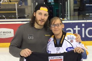 Lindhagen jersey goes to long time fan