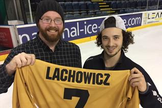 First year fan wins Lacho's shirt