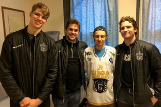 New heart for Panthers' fan Lewis